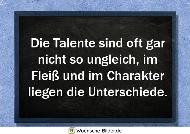 Die Talente sind oft gar