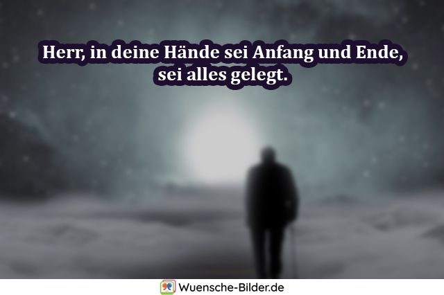 Herr, in deine Hände sei