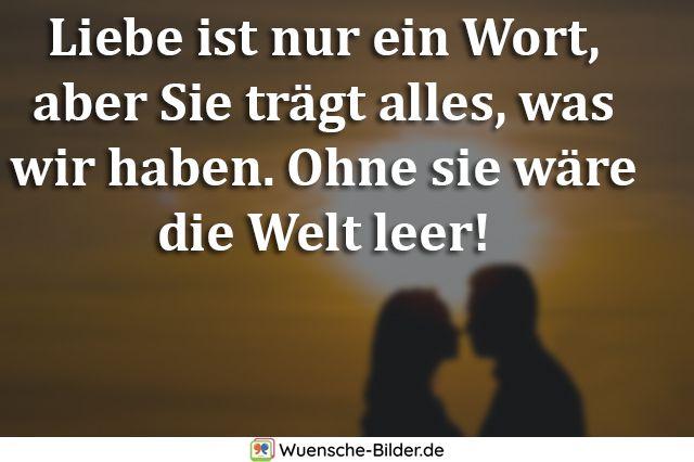 Liebe ist nur ein Wort