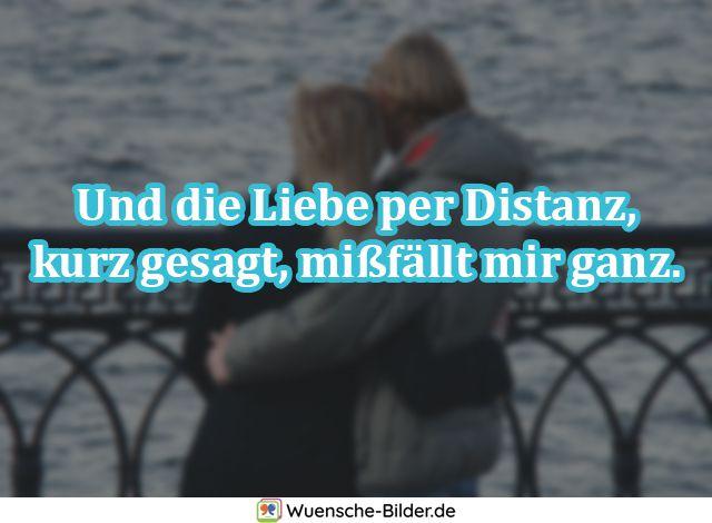Und die Liebe per Distanz