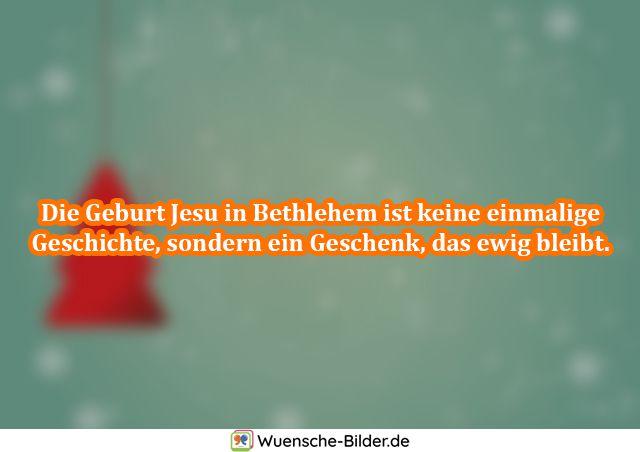 Die Geburt Jesu in Bethlehem