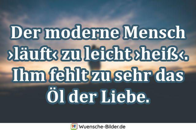 Der moderne Mensch ›läuft‹ zu