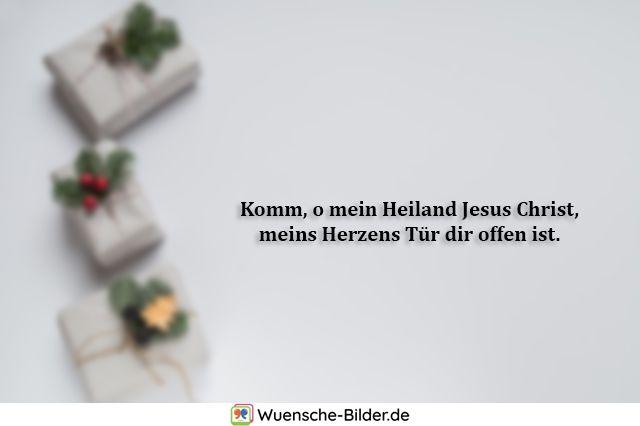 Komm, o mein Heiland Jesus