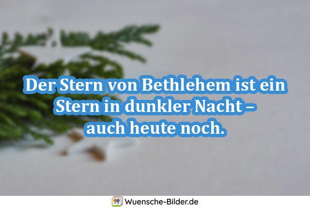 Der Stern von Bethlehem ist