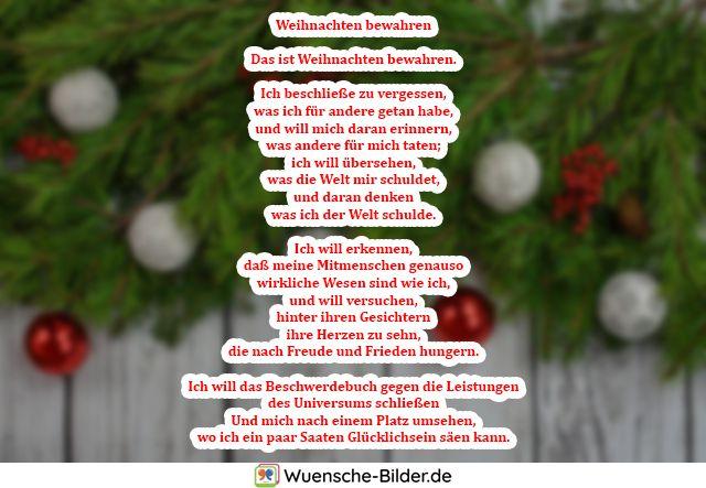 Weihnachten bewahren  Das ist Weihnachten