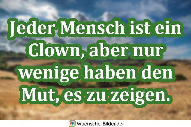 Jeder Mensch ist ein Clown