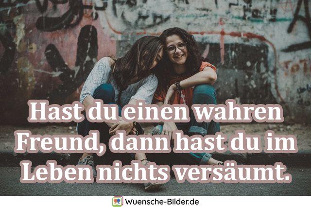 Hast du einen wahren Freund
