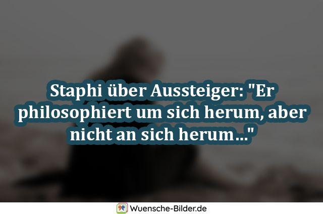 "Staphi über Aussteiger: ""Er philosophiert"