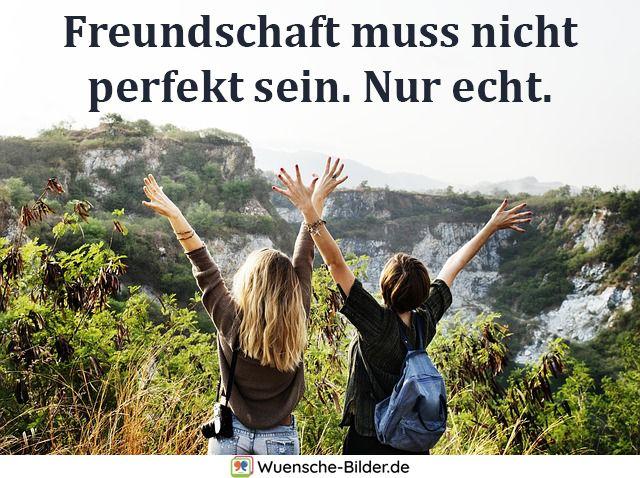 Freundschaft muss nicht perfekt sein