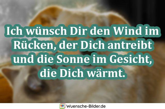 Ich wünsch Dir den Wind