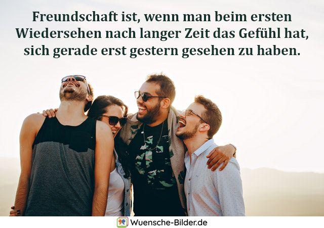 Freundschaft ist, wenn man beim