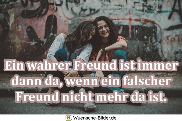 Ein wahrer Freund ist immer
