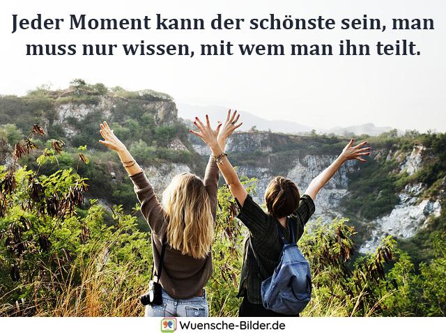 Jeder Moment kann der schönste