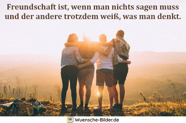 Freundschaft ist, wenn man nichts
