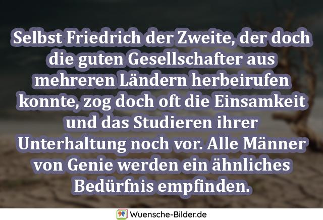 Selbst Friedrich der Zweite, der