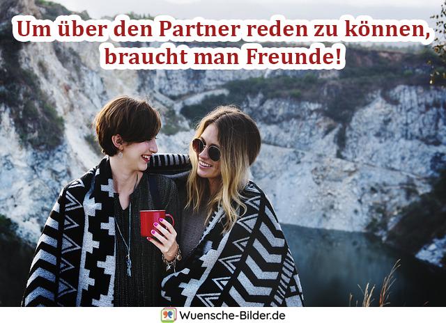 Um über den Partner reden