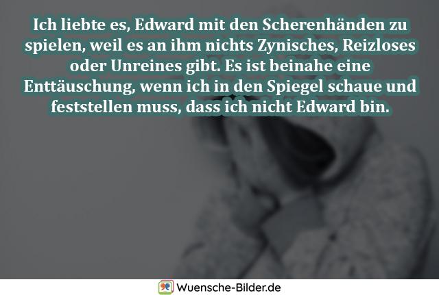 Ich liebte es, Edward mit