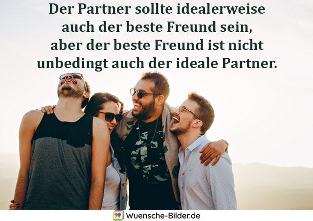 Der Partner sollte idealerweise auch