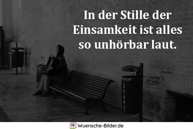 In der Stille der Einsamkeit