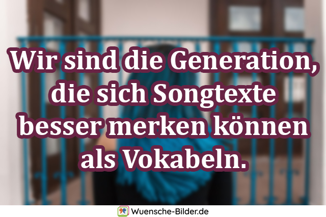 Wir sind die Generation, die