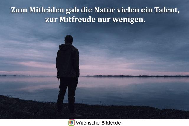 Zum Mitleiden gab die Natur
