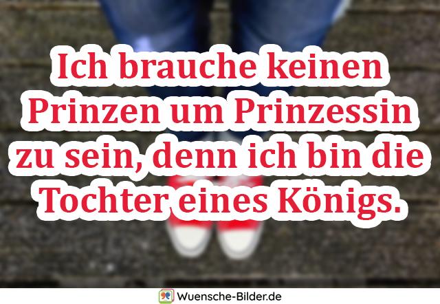 Ich brauche keinen Prinzen um