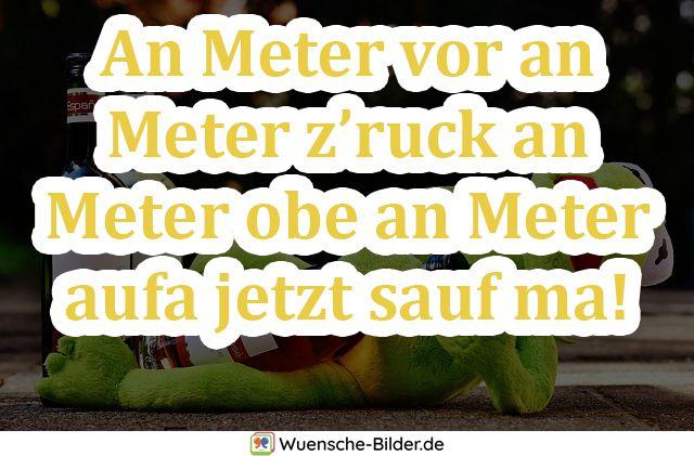 An Meter vor an Meter