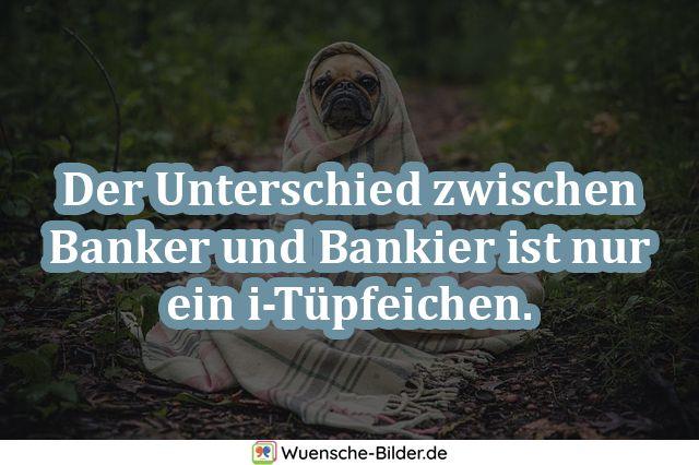 Der Unterschied zwischen Banker und