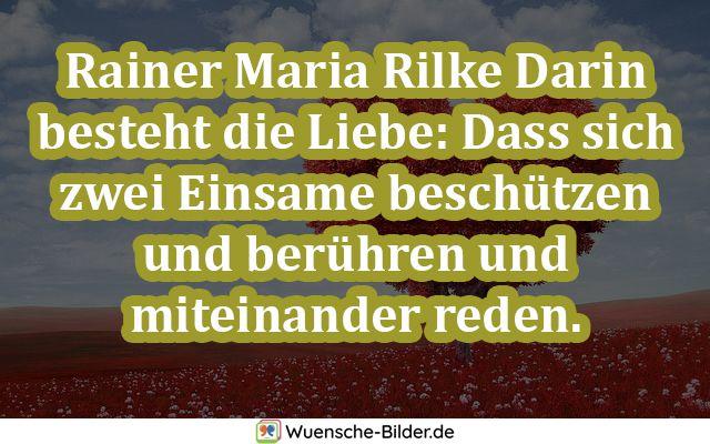 Rainer Maria Rilke Darin besteht