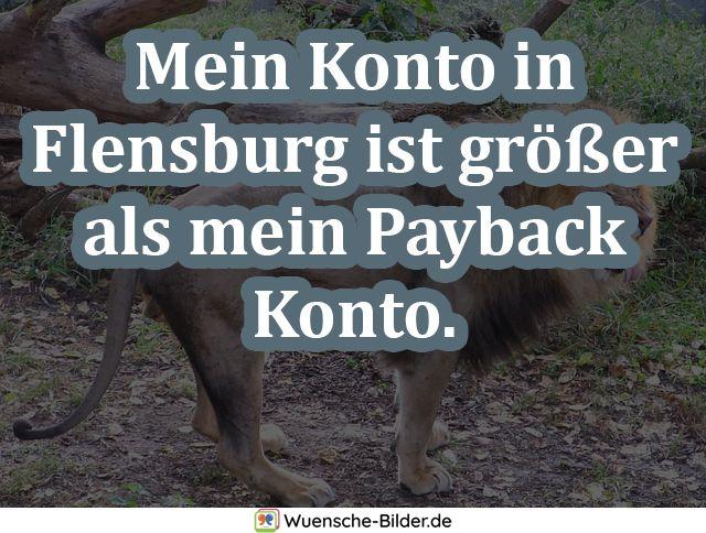 Mein Konto in Flensburg ist