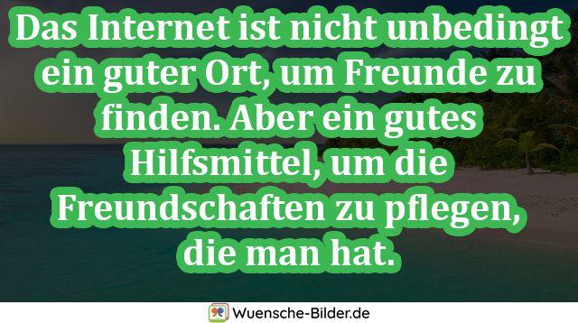Das Internet ist nicht unbedingt