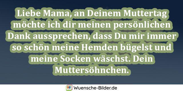 Liebe Mama, an Deinem Muttertag