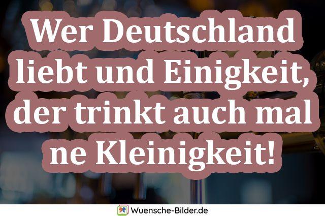 Wer Deutschland liebt und Einigkeit