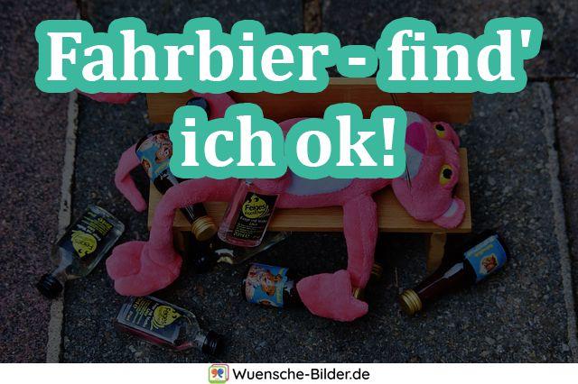 Fahrbier – find' ich ok!