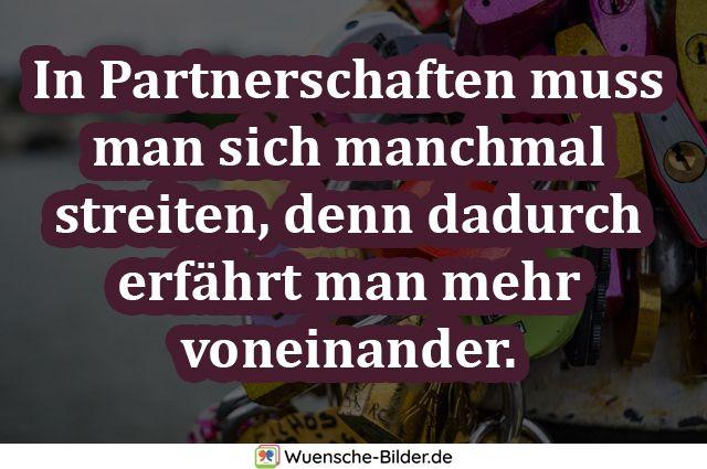 In Partnerschaften muss man sich