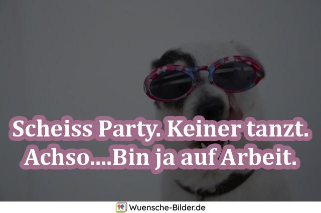 Scheiss Party. Keiner tanzt. Achso