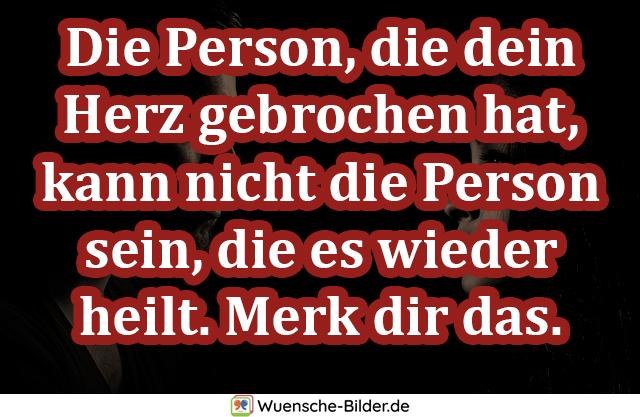 Die Person, die dein Herz