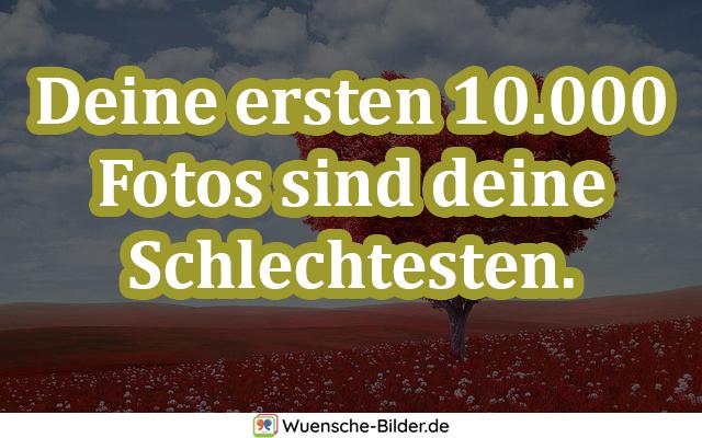 Deine ersten 10.000 Fotos sind