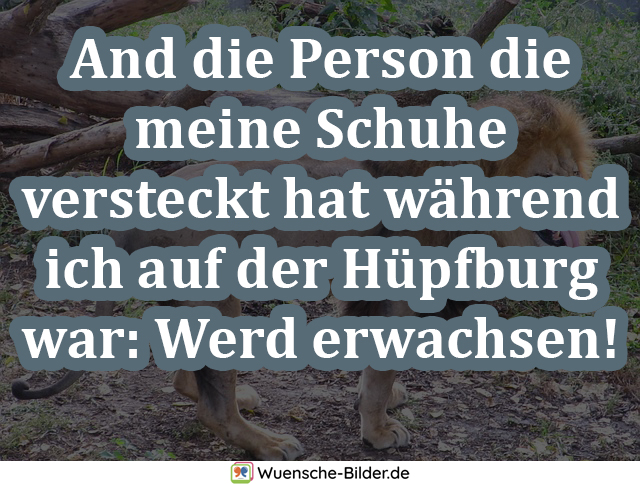 And die Person die meine