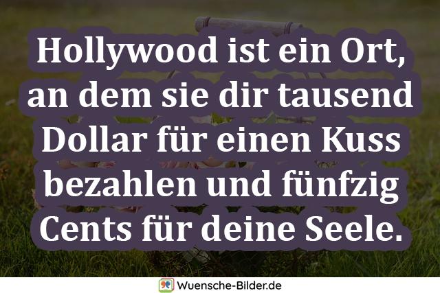 Hollywood ist ein Ort, an