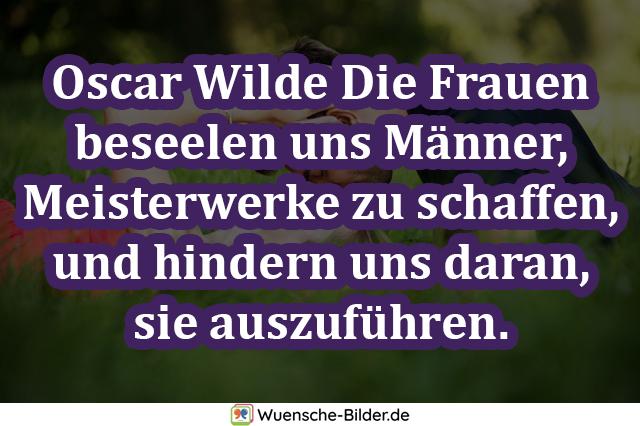 Oscar Wilde Die Frauen beseelen