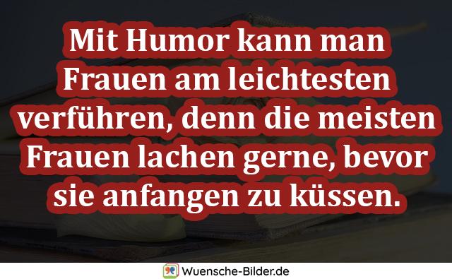 Mit Humor kann man Frauen