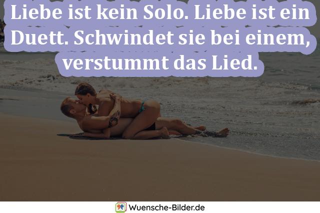 Liebe ist kein Solo. Liebe