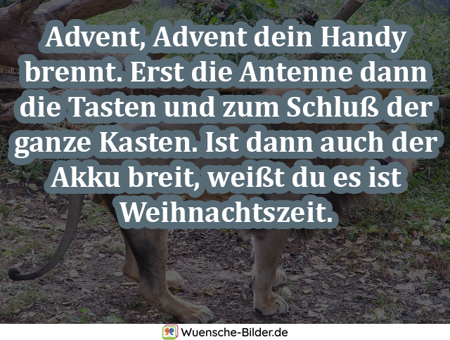 Advent, Advent dein Handy brennt