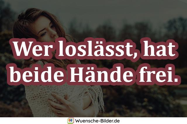 Wer loslässt, hat beide Hände