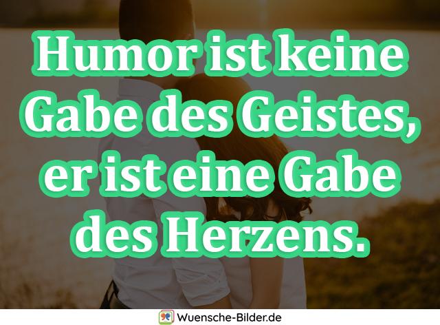 Humor ist keine Gabe des