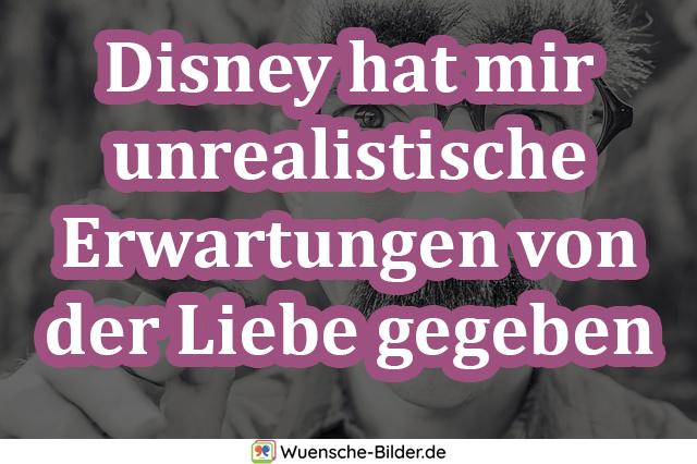 Disney hat mir unrealistische Erwartungen