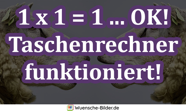 1 x 1 = 1