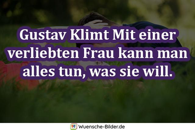 Gustav Klimt Mit einer verliebten