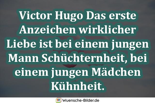 Victor Hugo Das erste Anzeichen